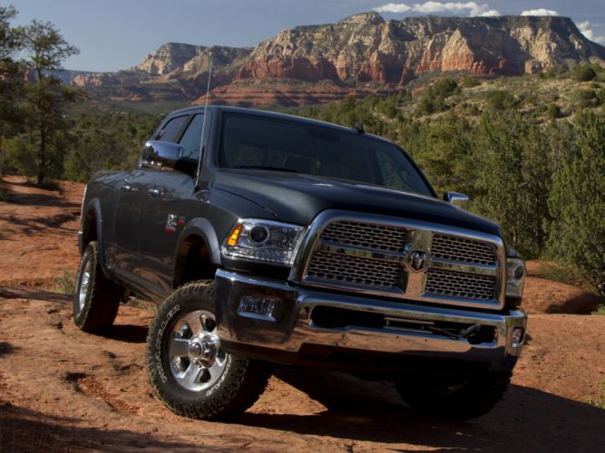 2014 Ram 2500 Power Wagon Laramie 4x4 pickup d wallpaper