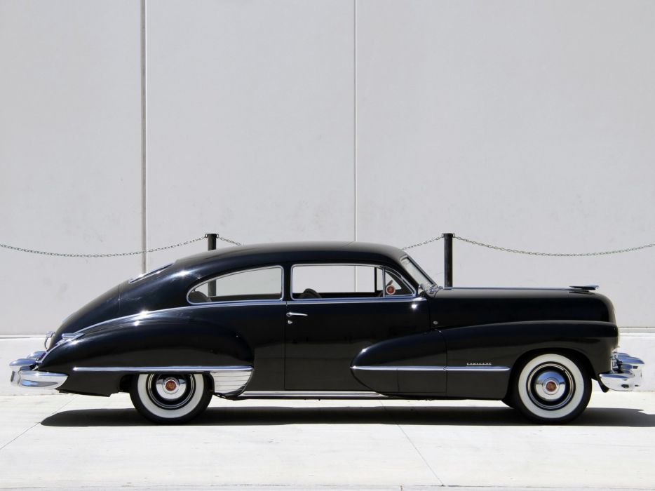 1946 Cadillac Sixty-Two Club Coupe (6207) retro luxury   w wallpaper