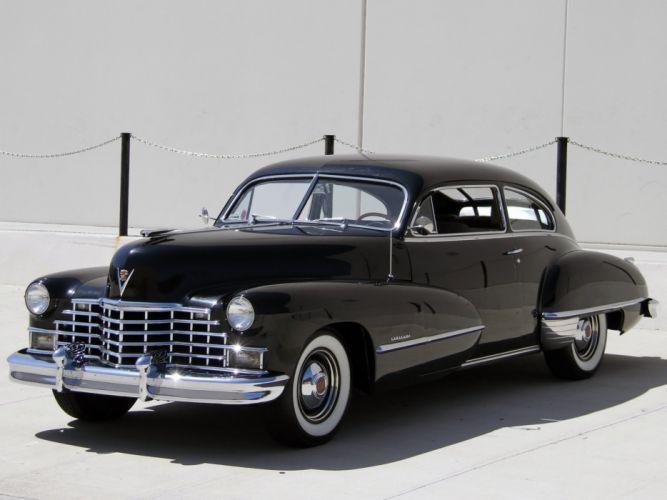 1946 Cadillac Sixty-Two Club Coupe (6207) retro luxury e wallpaper
