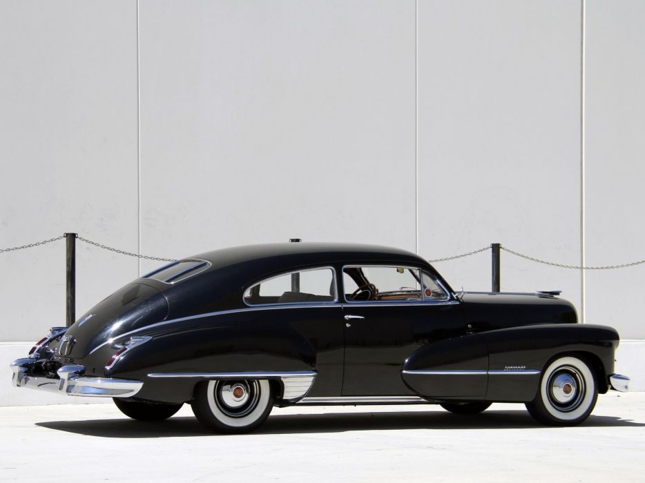 1946 Cadillac Sixty-Two Club Coupe (6207) retro luxury  f wallpaper