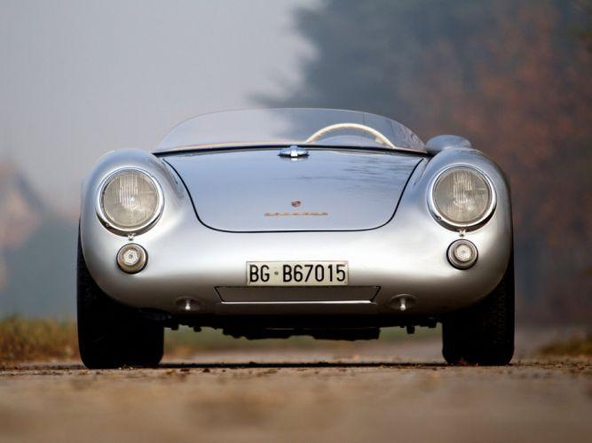 1956 Porsche 550 Spyder retro supercar retro f wallpaper