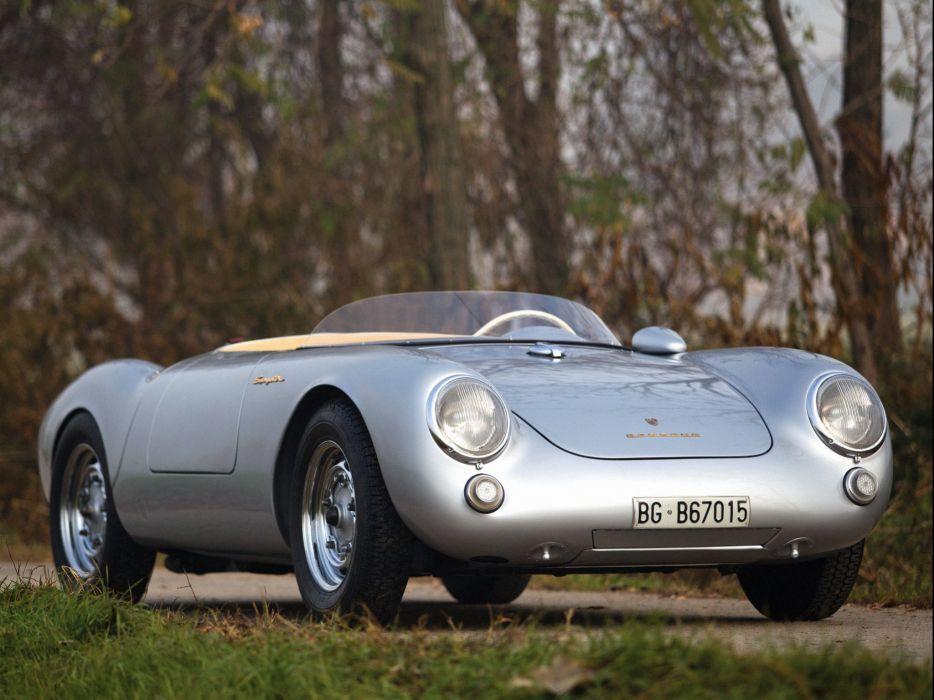 1956 Porsche 550 Spyder retro supercar retro   ew wallpaper
