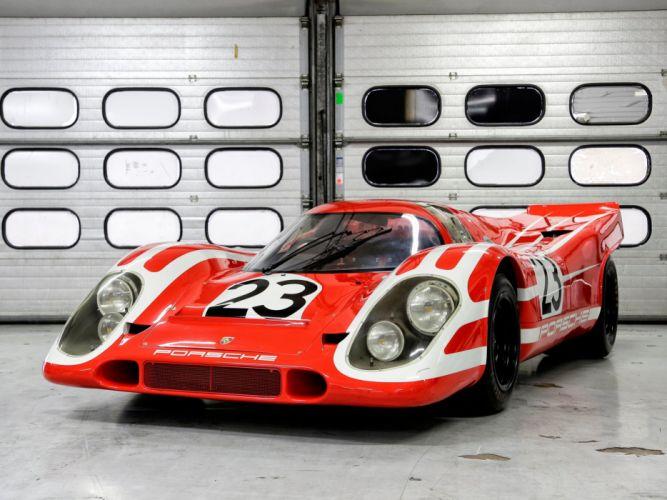 1969 Porsche 917K race racing le-mans w wallpaper