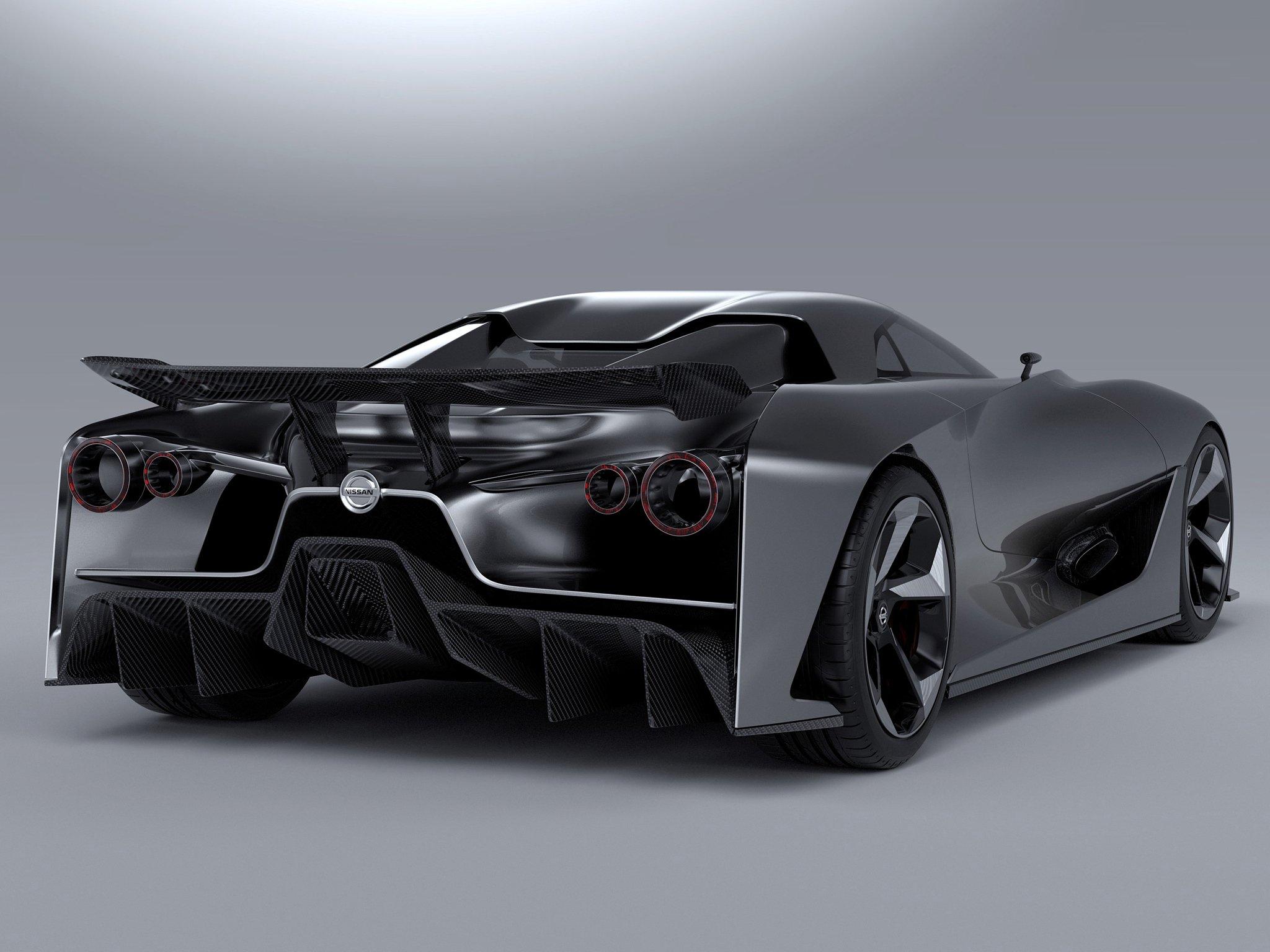 Nissan Concept Vision Gran Turismo Supercar F Wallpaper