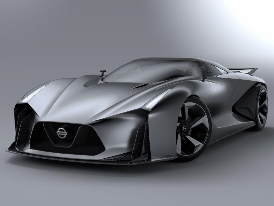 2014 Nissan Concept 2020 Vision Gran Turismo supercar   d wallpaper