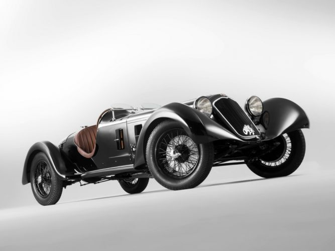 1929 Alfa Romeo 6-C 1750 S-S retro g wallpaper
