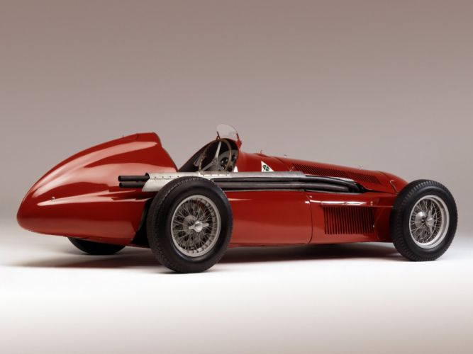 1951 Alfa Romeo Tipo 159 Alfetta race racing retro g wallpaper