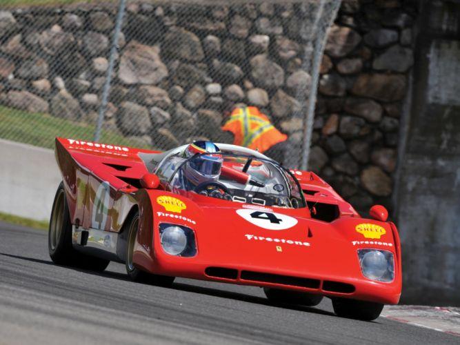 1966 Ferrari Dino 206 S (028) race racing le-mans classic 206s fs wallpaper