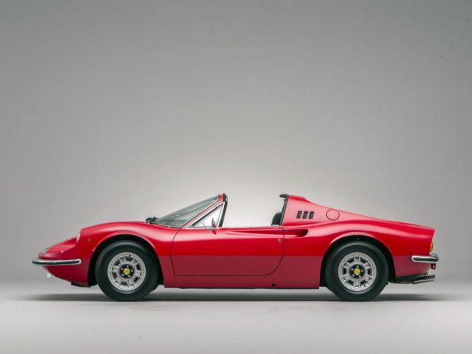 1972-74 Dino 246 GTS supercar classic f wallpaper