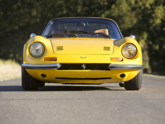 1972-74 Dino 246 GTS supercar classic h wallpaper