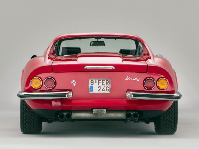 1972-74 Dino 246 GTS supercar classic ew wallpaper