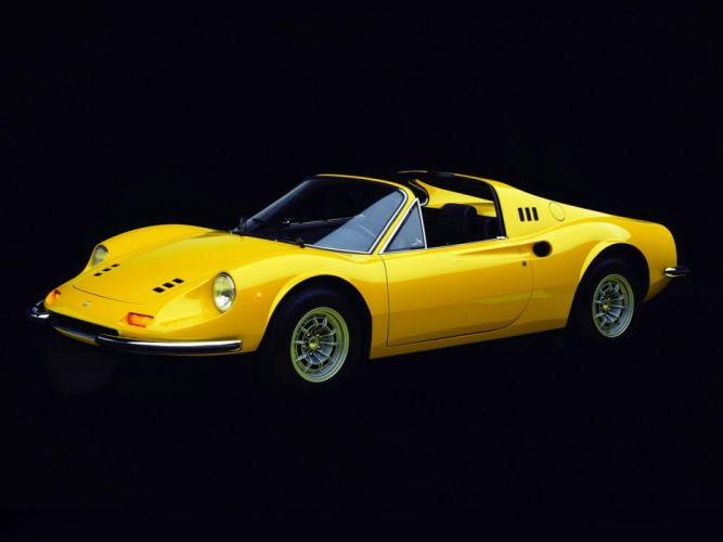 1972-74 Dino 246 GTS supercar classic r wallpaper