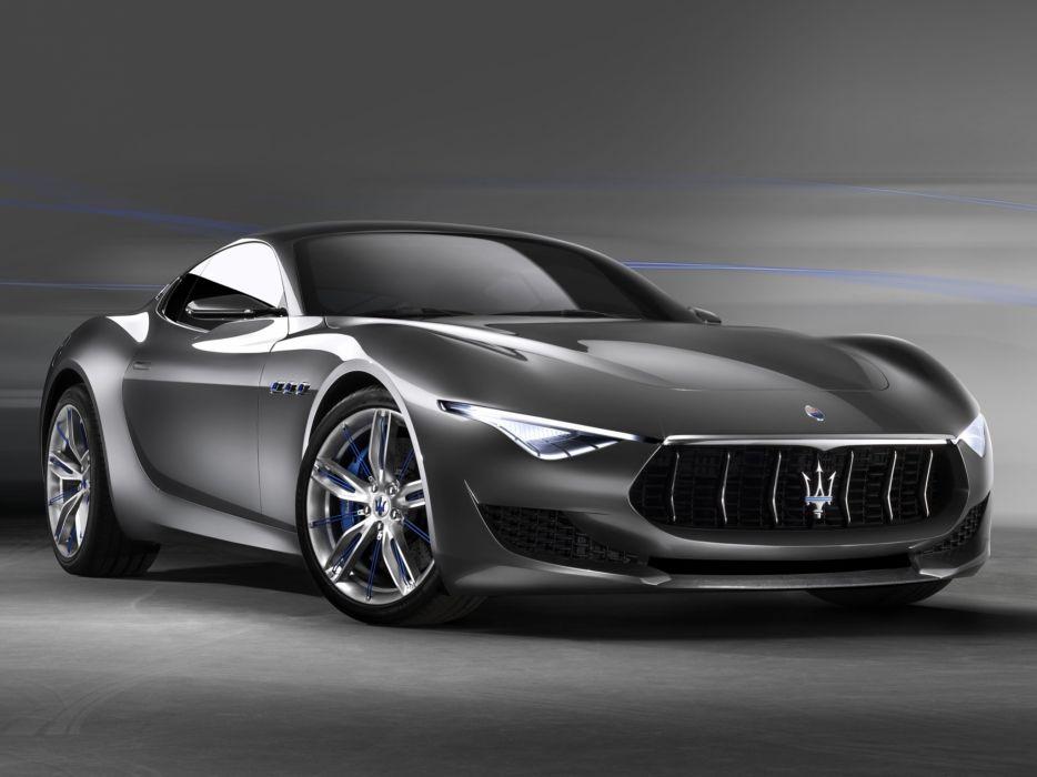 2014 Maserati Alfieri Concept supercar       f wallpaper