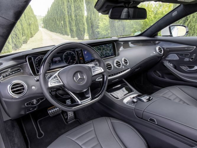 2014 Mercedes Benz S500 Coupe 4MATIC AMG Sports Package (C217) 500 e wallpaper