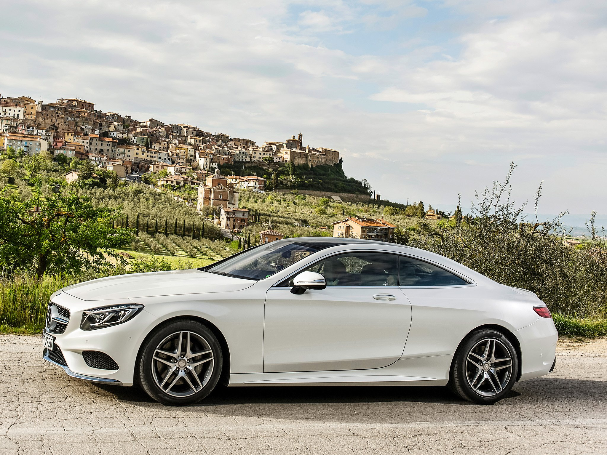 Benz S500 Coupe Images