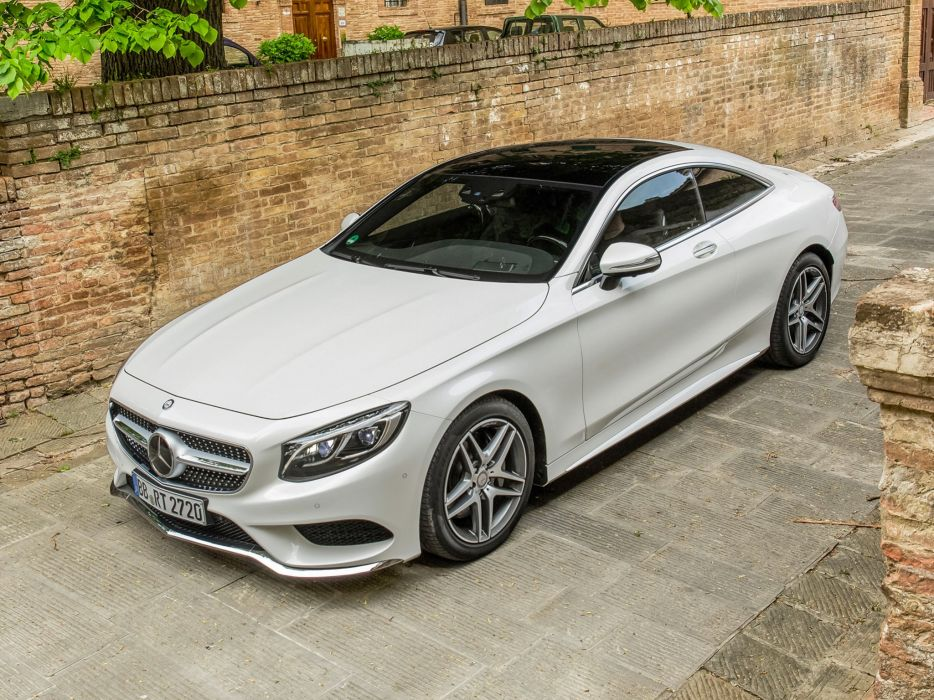 2014 Mercedes Benz S500 Coupe 4MATIC AMG Sports Package (C217) 500   d wallpaper