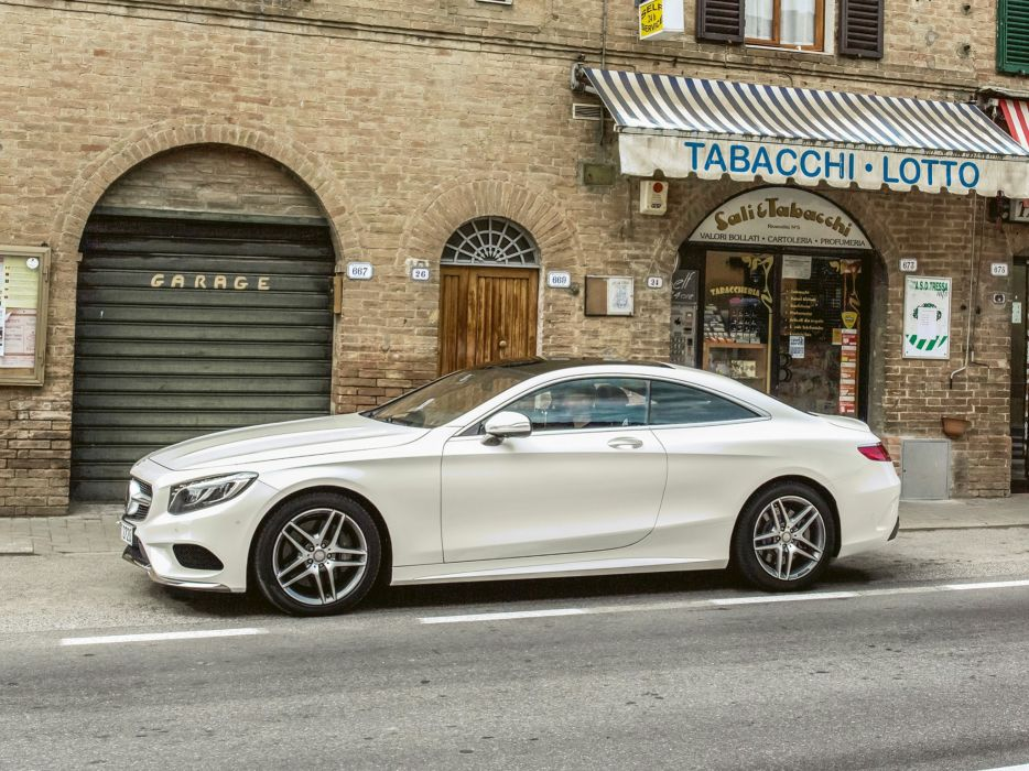 2014 Mercedes Benz S500 Coupe 4MATIC AMG Sports Package (C217) 500  f wallpaper
