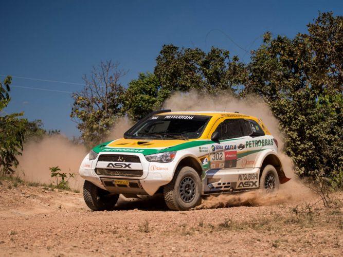 2014 Mitsubishi ASX Racing baja offroad race racing d wallpaper