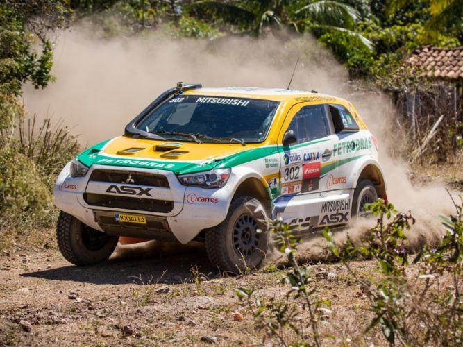 2014 Mitsubishi ASX Racing baja offroad race racing f wallpaper