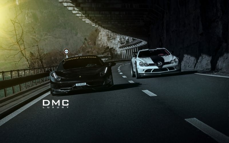 2014 DMC Ferrari 458 Italia Elegante supercar f wallpaper