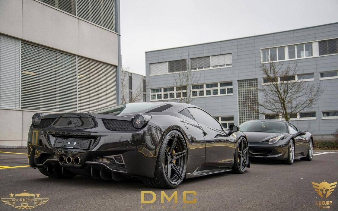 2014 DMC Ferrari 458 Italia Elegante supercar   e wallpaper