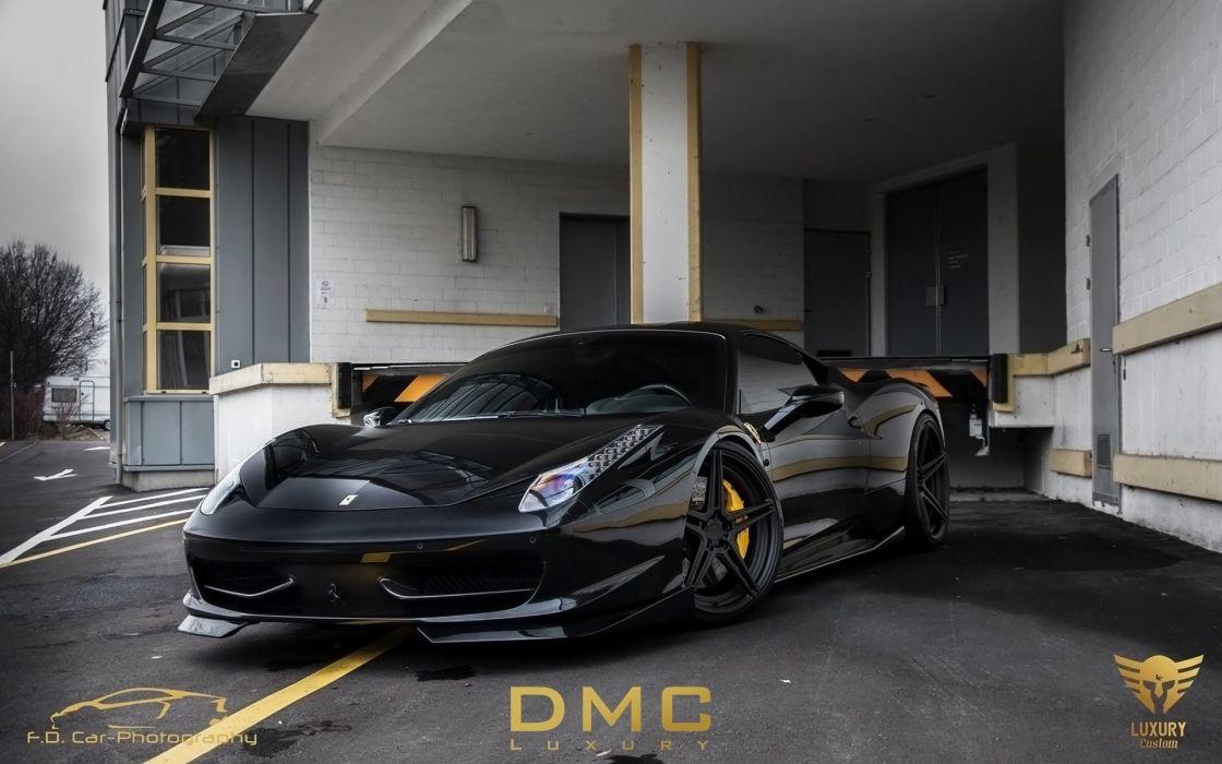 2014 DMC Ferrari 458 Italia Elegante supercar  ew wallpaper