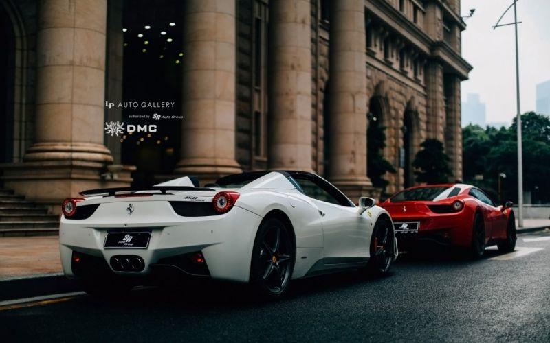 2014 DMC Ferrari 458 Italia Monte Carlo supercar r wallpaper