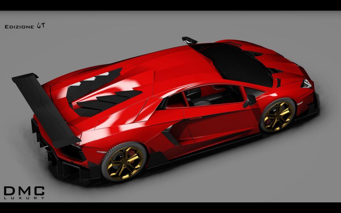 2014 DMC Lamborghini Aventador LP988 Edizione G-T supercar f wallpaper