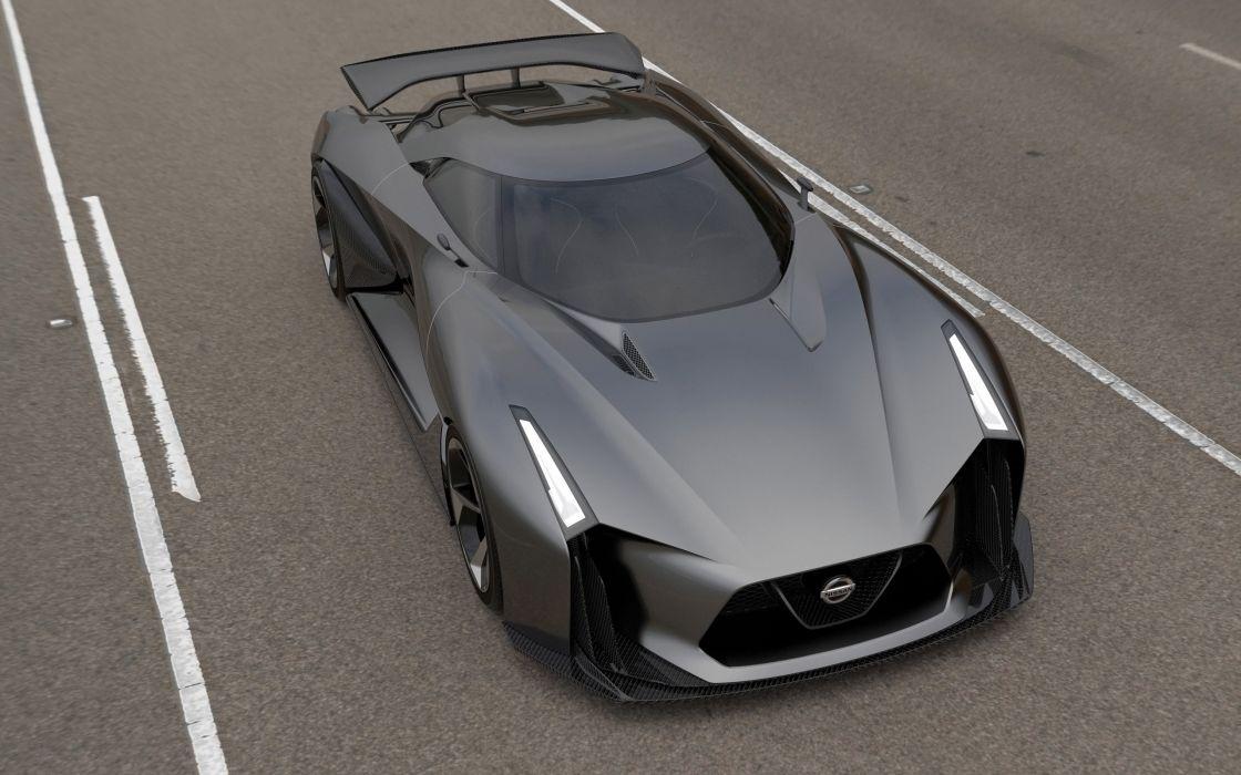 2014 Nissan Concept 2020 Vision Gran Turismo supercar   f wallpaper