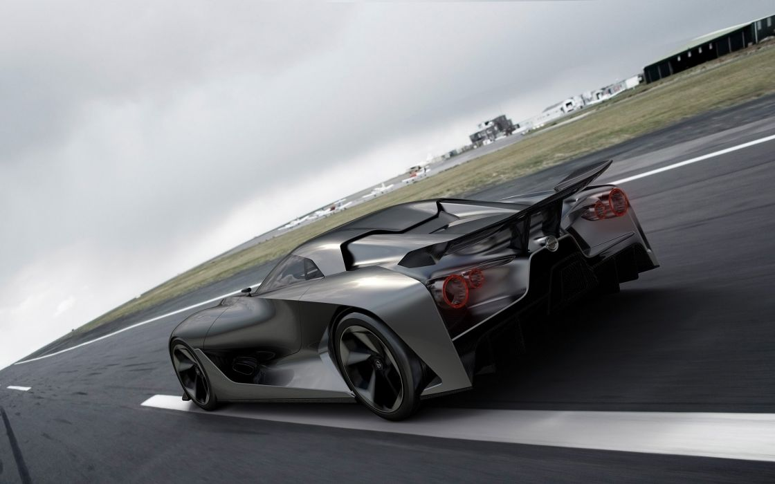 2014 Nissan Concept 2020 Vision Gran Turismo supercar  fj wallpaper