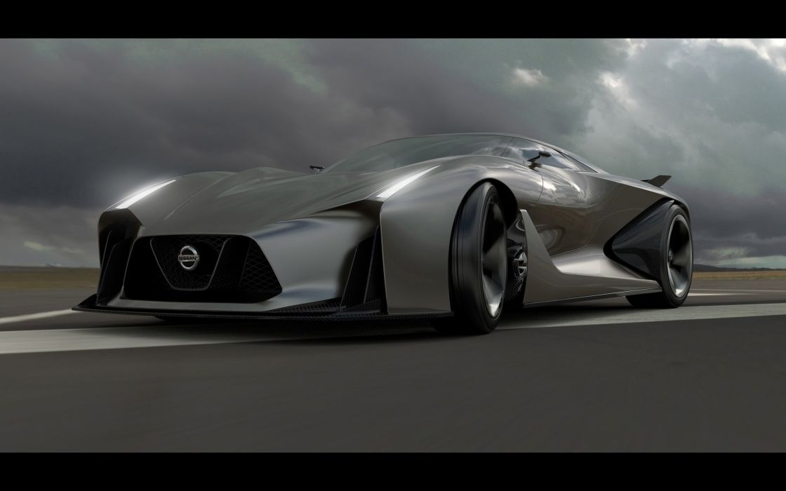 2014 Nissan Concept 2020 Vision Gran Turismo supercar  fs wallpaper
