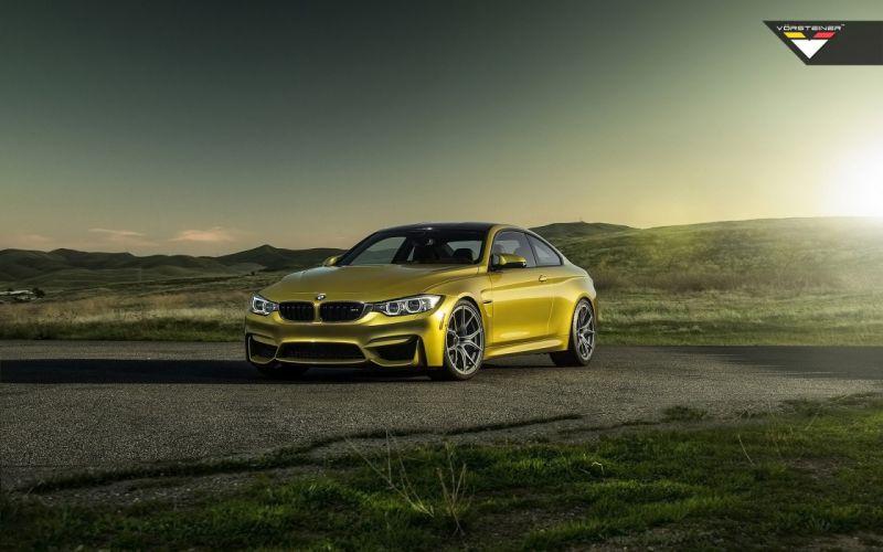 2014 Vorsteiner BMW M-4 Austin Yellow e wallpaper
