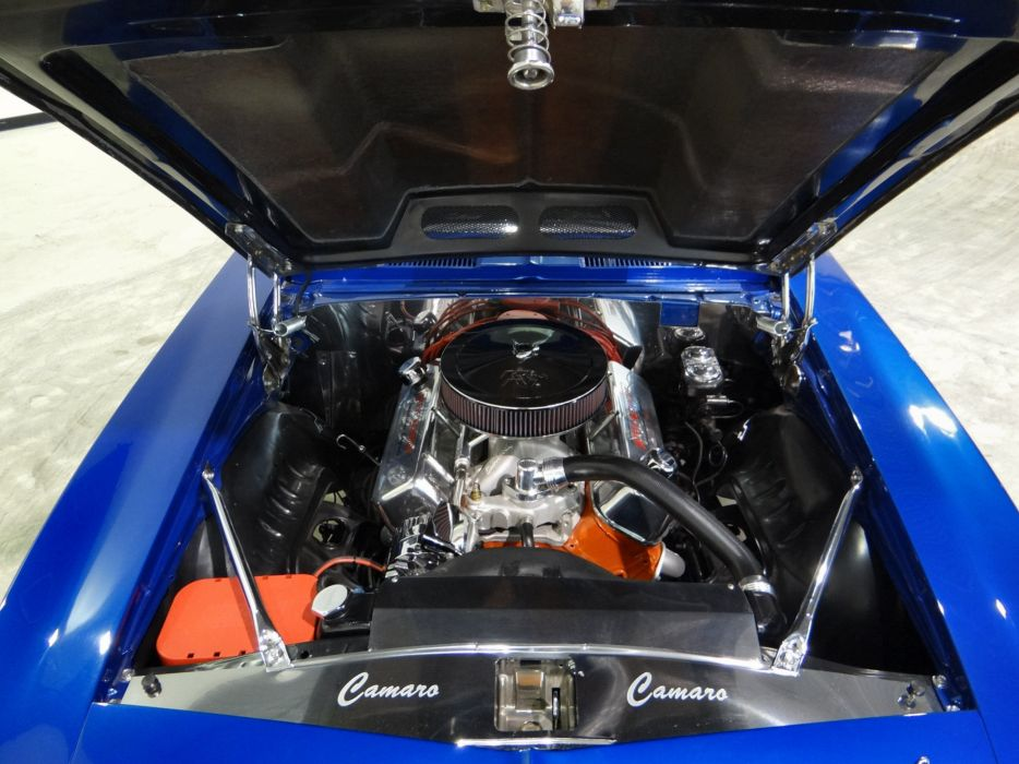 1969 Chevrolet Camaro R-S S-S hot rod rods classic muscle (2) wallpaper