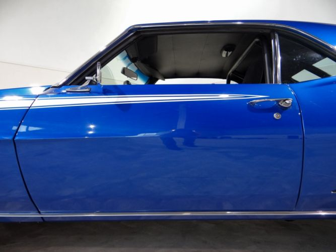 1969 Chevrolet Camaro R-S S-S hot rod rods classic muscle (26) wallpaper
