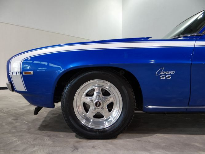 1969 Chevrolet Camaro R-S S-S hot rod rods classic muscle (25) wallpaper