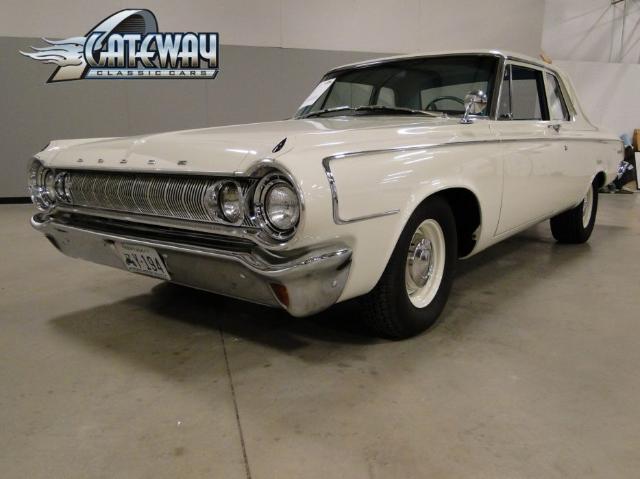 1964 Dodge 330 muscle classic (12) wallpaper