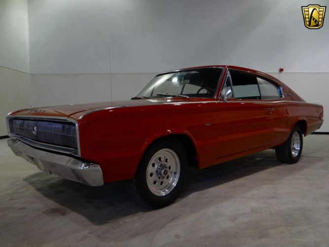 1966 Dodge Charger muscle classic hot rod rods (17) wallpaper
