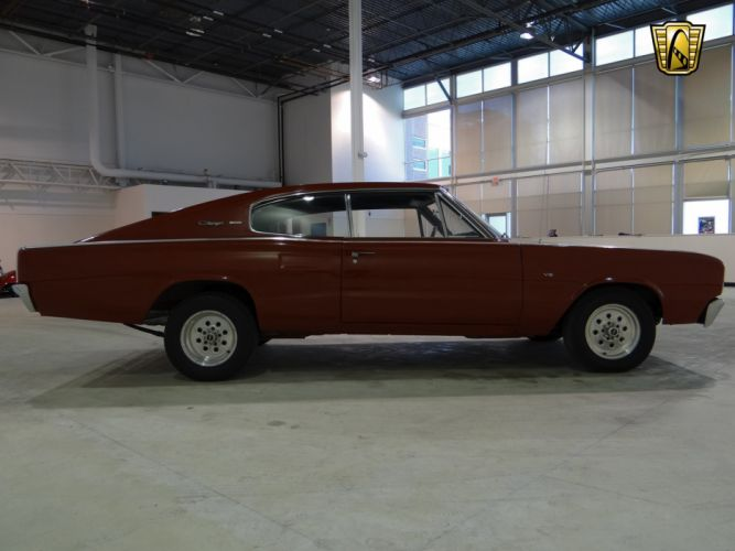1966 Dodge Charger muscle classic hot rod rods (24) wallpaper