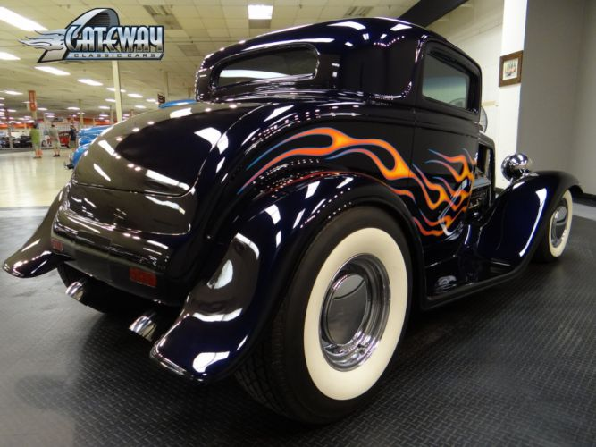 1932 Ford Coupe hot rod rods retro (1) wallpaper