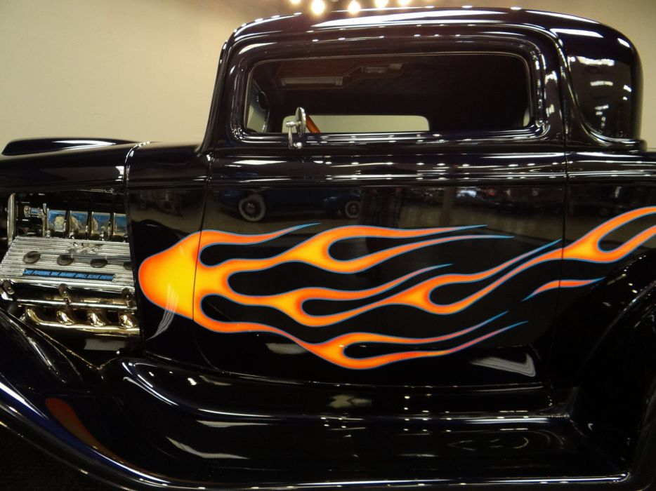 1932 Ford Coupe hot rod rods retro (10) wallpaper
