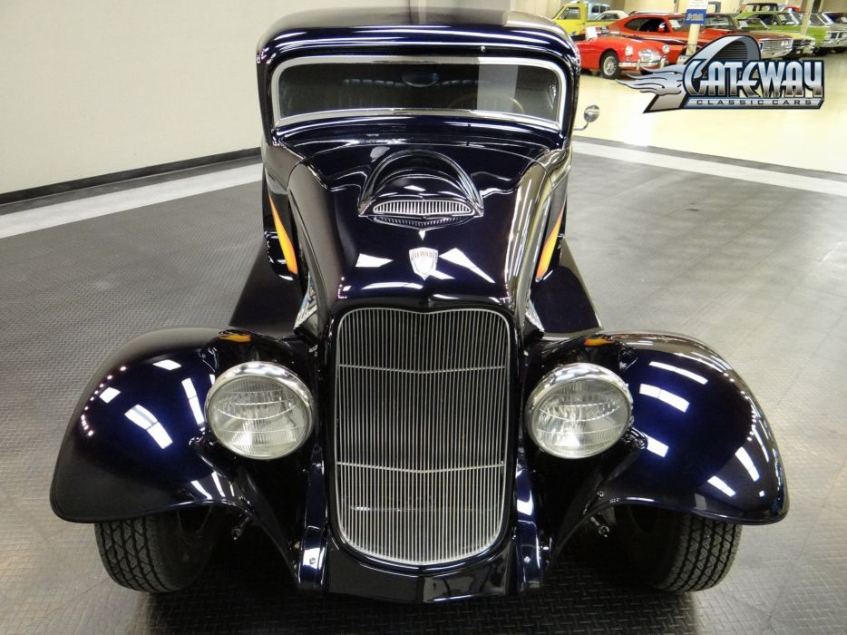 1932 Ford Coupe hot rod rods retro (11) wallpaper