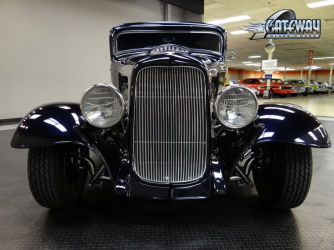 1932 Ford Coupe hot rod rods retro (16) wallpaper