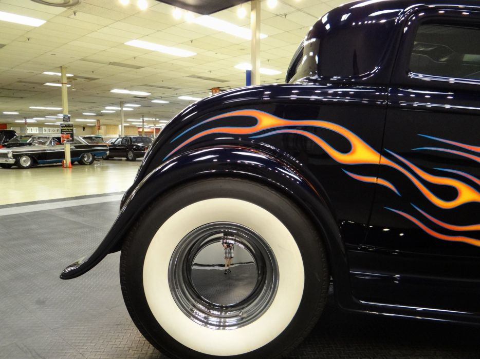 1932 Ford Coupe hot rod rods retro (26) wallpaper