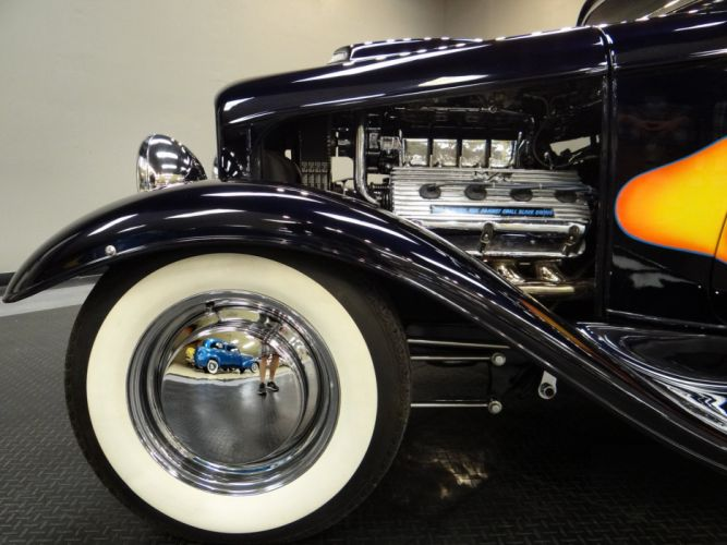 1932 Ford Coupe hot rod rods retro (25) wallpaper