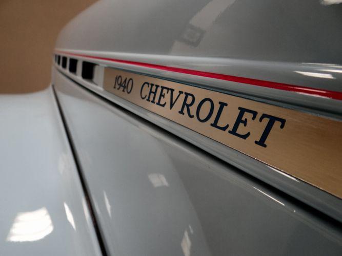 1940 Chevrolet Sedan retro hot rod rods custom (11) wallpaper