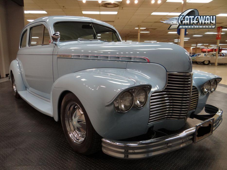 1940 Chevrolet Sedan retro hot rod rods custom (20) wallpaper