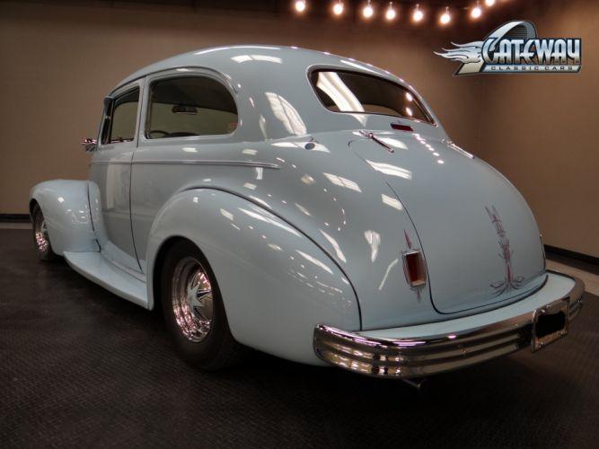 1940 Chevrolet Sedan retro hot rod rods custom (21) wallpaper