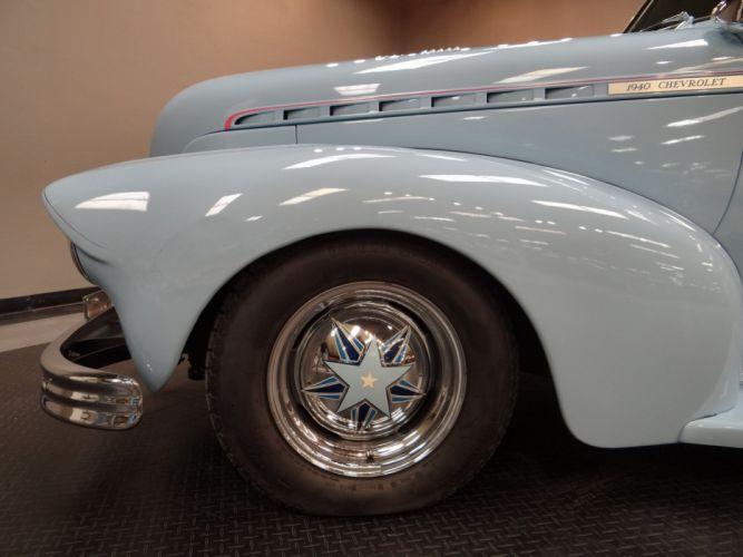 1940 Chevrolet Sedan retro hot rod rods custom (27) wallpaper