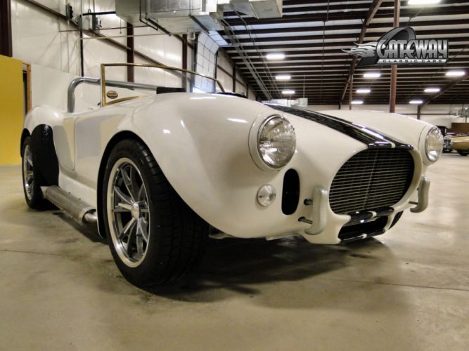 1966 A-C Cobra shelby hot rod rods classic muscle supercar (18) wallpaper