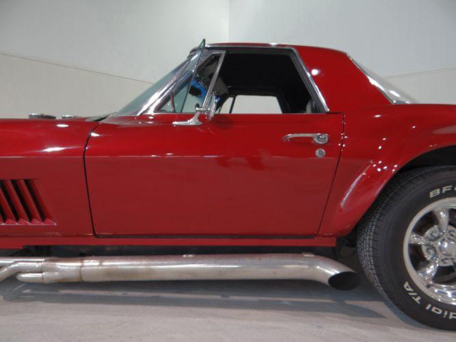 1967 Chevrolet Corvette Custom Convertible hot rod rods muscle classic (1) wallpaper